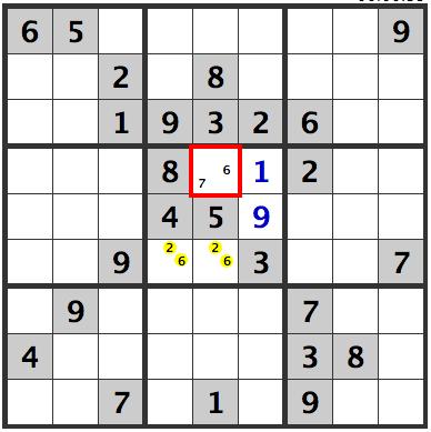 Sudoku nake pairs